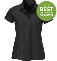 Women's Precision Emboss Short Sleeve Polo