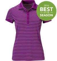 Women's Victory Stripe Short Sleeve Polo