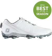 Men's D.N.A BOA Spiked Golf Shoes - White (FJ# 53392)