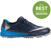 Men's Lunar Control 4 Spiked Golf Shoes - Midnight Navy/White/Photo Blue