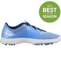 Women's Lunar Summer Lite 2 Spiked Golf Shoes - Chalk Blue/White/Midnight Navy