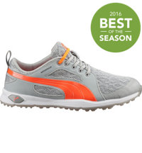 Women's Puma Biofly Mesh Spiked Golf Shoes - Fluo Peach