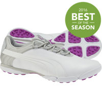 Women's Puma Sunnylite V2 Spikeless Golf Shoes - White/Gray/Violet