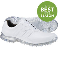 Men's Adipure ZT Spiked Golf Shoes - Ftwr White/Silver Metal