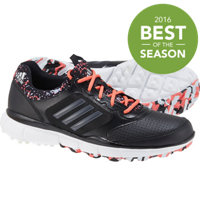 Women's Adistar Sport Spikeless Golf Shoes - Core Black/Gray/Sunset Coral