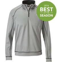 Men's Quarter-Zip Fleece Popover