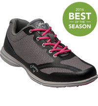 Women's Solaire Spikeless Golf Shoes - Grey/Black (# W439-12)