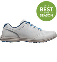 Women's Solaire Spikeless Golf Shoes - White/Navy/Blue (# W439-16)