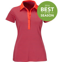 Women's Zinger Stripe Short Sleeve Polo