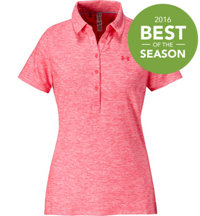 Women's Zinger Solid Short Sleeve Polo