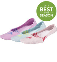 Women's Climacool 3-Stripes No Show 3-Pack Socks