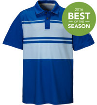 Boy's Patternblock Polo