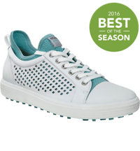 Women's Casual Hybrid HM Spikeless Golf Shoes - Wht/Aquatic (#122063-59779)