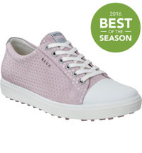 Women's Casual Hybrid Spikeless Golf Shoes - Violet Ice Dots (#122013-05405)