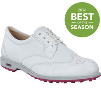 Women's Classic Hybrid Spikeless Golf Shoes - White