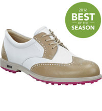 Women's Classic Hybrid Spikeless Golf Shoes - Sand/Wht (#111033-52259)