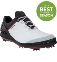 Men's BIOM Cage Spiked Golf Shoes - Wht/Blk (#132504-51227)
