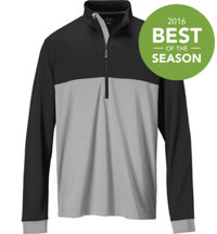 Men's Color Block Half-Zip Pullover
