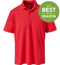 Men's Seasonal Solid Short Sleeve Polo
