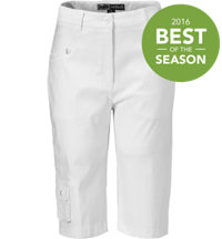 Women's Fly Front Capri Pants