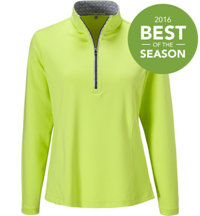 Women's Grace Half-Zip Long Sleeve Pullover