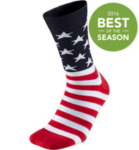 Men's American Flag Crew Socks