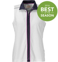 Women's Piped Sleeveless Polo
