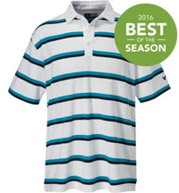 Men's 3 Color Auto Short Sleeve Polo