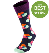 Women's Spectrum Crew Socks