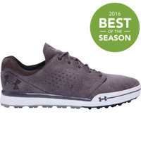 Men's UA Tempo Hybrid Golf Shoes - Gravel/Charcoal
