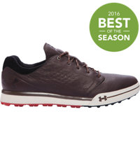 Men's UA Tempo Hybrid Golf Shoes - Brown