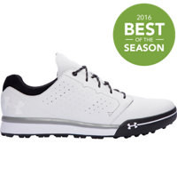 Men's UA Tempo Hybrid Golf Shoes - White/Black