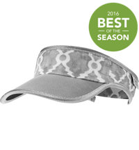 Women's Pull and Loop Wrought Iron Visor
