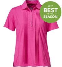 Women's Claudelle Short Sleeve Polo