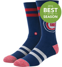 Men's MLB Diamond Cubbies Socks