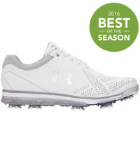Men's Tempo Tour Spiked Golf Shoes - White