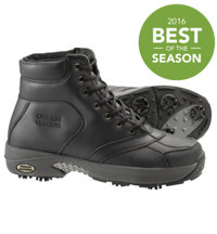 Men's Six-Inch Winter Golf Boots (Black/Gray)
