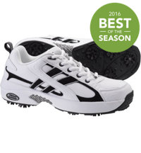 Women's Athletic Golf Shoes (White/Black)