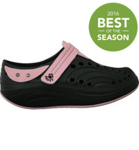 Women's Spirit Toner Casual Shoes (Black/Soft Pink)