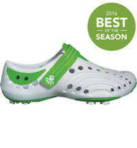 Women's Golf Spirit New Colors Golf Shoes (White/Lime Green)