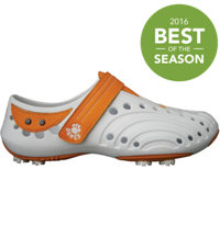 Women's Golf Spirit New Colors Shoes - White/Orange