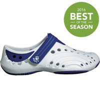 Junior's Premium Spirit Casual Shoes (White/Royal Blue)