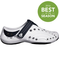 Junior's Premium Spirit Casual Shoes (White/Navy)