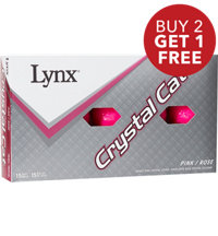 Crystal Cat Pink Golf Balls - 15 Pack