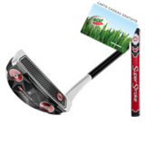 O-Works 17 White/Black/White Blade Putter with Superstroke Grip