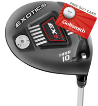 Exotics EX9 Tour Adjustable Driver
