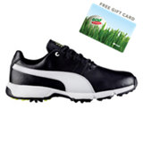 Junior Titantour Cleated Golf Shoe - Blk/Wht