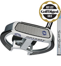 Works Versa Tank Fang Putter with SuperStroke Grip