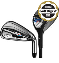 XR 4H, 5H, 6-PW, SW Combo Iron Set with Steel Shafts