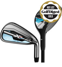 Lady XR 4H, 5H, 6-PW, AW Combo Iron set with Graphite Shafts